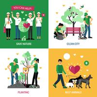 Voluntarios 2x2 Design Concept