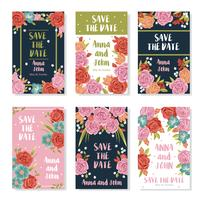 Wedding Bouquet Banners vector