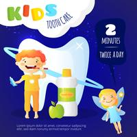 Kids Dental Care Poster