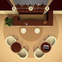 Ilustración interior del pasillo