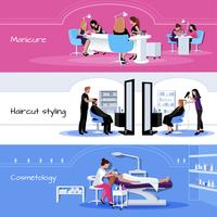 Beauty Salon Service Horizontal Banners