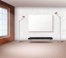 Interno loft realistico