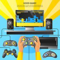 Game Gadget Illustration