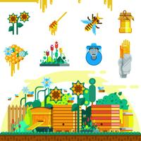 Apiary Icons Set