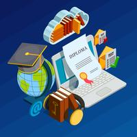 Online Learning Isometric Concept