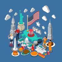 USA Concept Composition