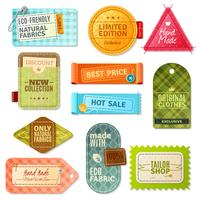 Fabric Label Set