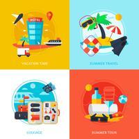 conceito de design de viagem