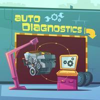 Auto Diagnostics Illustration
