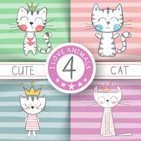 Cute little princess - cat characters