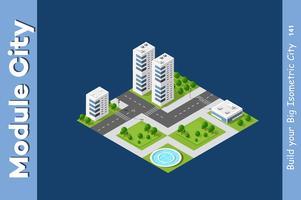 Het stadsdeel van Megapolis