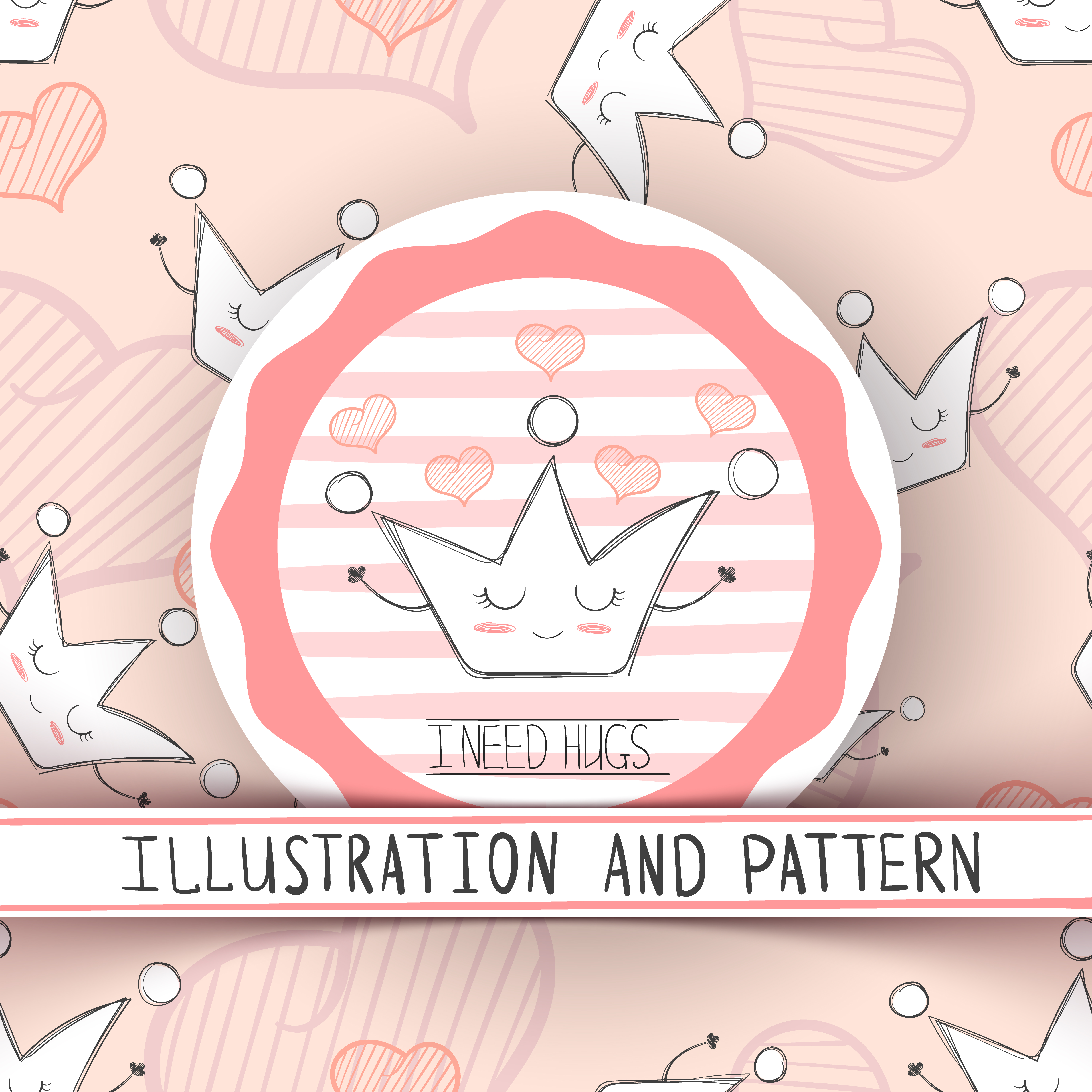 Cartoon Crown Characters Cute Illustration And Pattern Download Free Vectors Clipart Graphics Vector Art Huge collection, amazing choice, 100+ million high quality, affordable rf and rm images. vecteezy