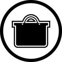 Diseño del icono del bolso de compras