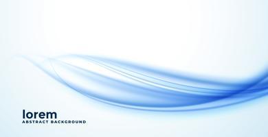 abstracte blauwe vloeiende golf achtergrond