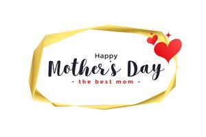 lycklig mors dag hjärtan bakgrund