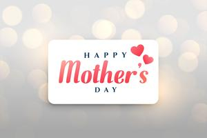 glad mors dag bokeh bakgrund