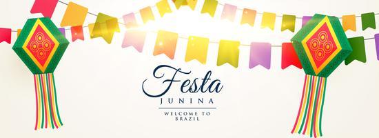 festa junina celebração fundo design