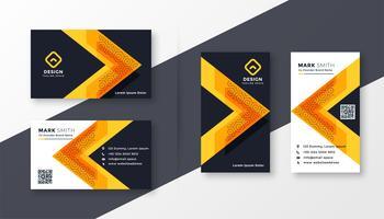 stijlvol bedrijf visitekaartje ontwerp