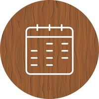 Disegno dell'icona del calendario