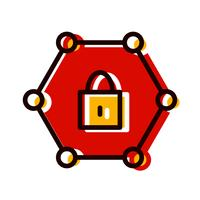 Protected Network Icon Design