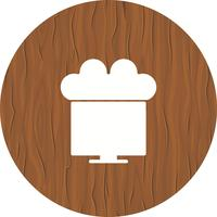Connecté au Cloud Icon Design