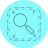 Zoek pictogramontwerp