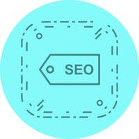 seo tag icon design