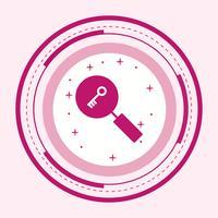 Stichwortsuche-Icon-Design