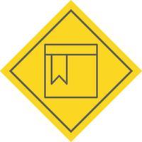 Disegno dell'icona della pagina segnalibro