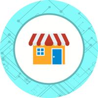 Shop Icon Design vector