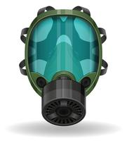 gas mask vector illustration