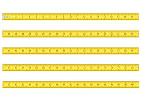 measuring tape for tool roulette vector illustration