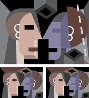Retrato do cubismo