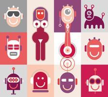 Testa di robot