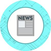 News Paper Icon Design