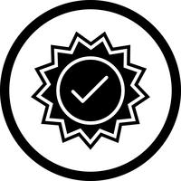 Valid Stamp Icon Design
