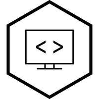 Code optimization Icon Design