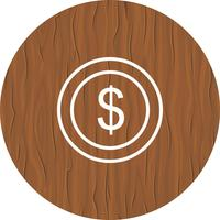 Dollari Coin Icon Design