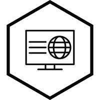 Webbsida Icon Design