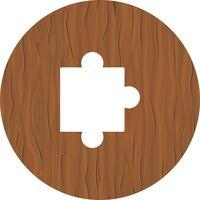 Puzzleteil-Icon-Design