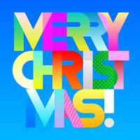 Merry Christmas decorative text