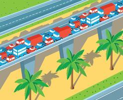 Autostrada isometrica