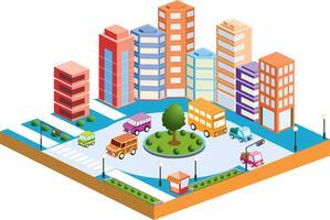3d city3 vector