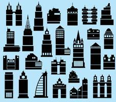Ciudad moderna vector