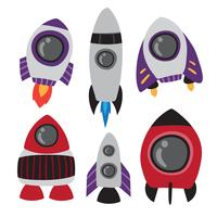 rocket vector collection design