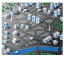 Isometric map