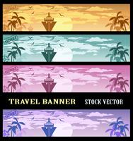 Colourful banners