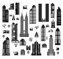 City mix vector