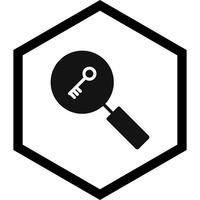 Recherche par mot-clé Icône Design