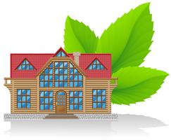 concept of environmental home vector illustration